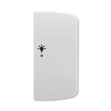 ABB 6220A-A02201 S free@home Kryt 2násobný pravý, symbol osvětlení