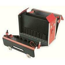 CIMCO 170078 Kožený kufr VDE červený 380x480x220 mm