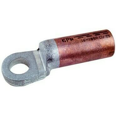 GPH 50x10 KU-ALU-M Cu-Al kabelové oko masivní