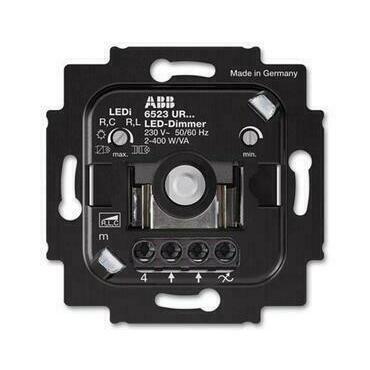ABB 2CKA006512A0345 Přístroje Přístroj stmívače LED, pro otočné ovládání a tlač. spínání