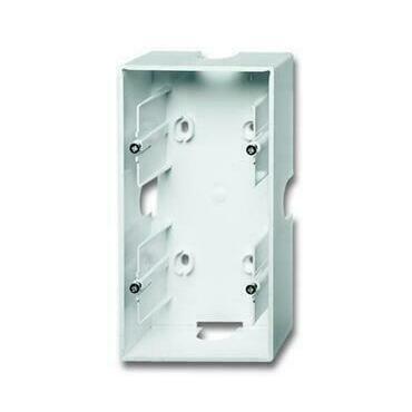 ABB 2CKA001799A0902 Úložný materiál Krabice přístrojová dvojnásobná, pro lištové rozvody