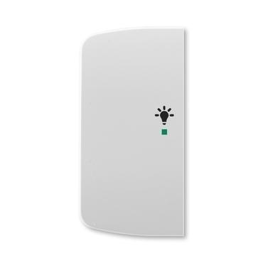 ABB 6220A-A02101 S free@home Kryt 2násobný levý, symbol osvětlení