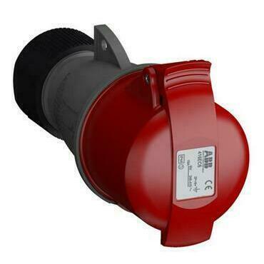 ABB 2CMA102023R1000 Průmyslové vidlice a z. Zásuvka spojovací 16A - 5p., IP44, 6 h