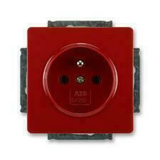 ABB 5518G-A02349 R1 Swing Zásuvka jednonásobná s ochranným kolíkem