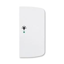 ABB 6220A-A02201 B free@home Kryt 2násobný pravý, symbol osvětlení
