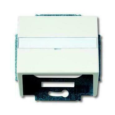 ABB 2CKA001724A4307 Future Kryt zásuvky komunikační, s popisovým polem (pro nosnou masku)