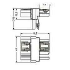 WAGO 770-1731 T-rozdělovač