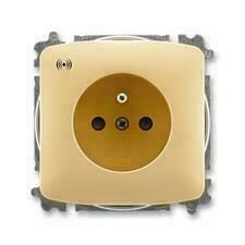 ABB 5589A-A02357 D Tango Zásuvka s přepěťovou ochranou, s akustickou signalizací poruchy