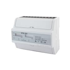 EL 1000888 Elektroměr DTS 353-L, 100A, 7mod., LCD, 3-fáz., 2-tar., podružný RP 0,60kč/ks