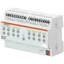 ABB 2CDG110122R0011 KNX Řadový žaluziový akční člen 8násobný, 230 V AC, manuální ovládání