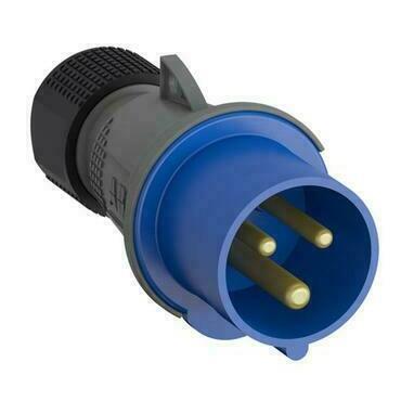 ABB 2CMA101975R1000 Průmyslové vidlice a z. Vidlice 32A - 3p., IP44, 6 h
