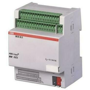 ABB 2CDG110071R0011 KNX Řadový universální 32cestný vstup/výstup (koncentrátor)