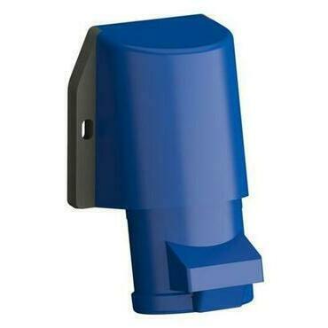 ABB 2CMA102350R1000 Průmyslové vidlice a z. Zásuvka nástěnná bezšroubová 32A - 3p., IP44, 6 h