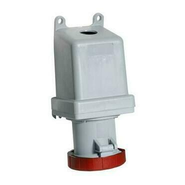 ABB 2CMA167252R1000 Průmyslové vidlice a z. Zásuvka nástěnná, 4p., 125 A, IP67, 6 h