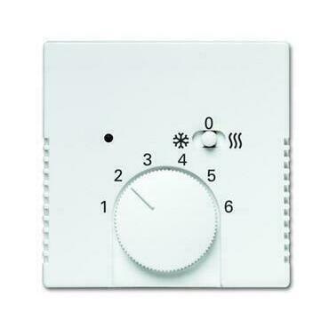 ABB 2CKA001710A4049 Future Kryt termostatu pro topení/ chlazení, s posuvným přepínačem