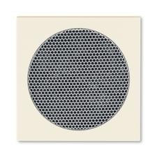ABB 5016H-A00075 17 Levit Kryt pro reproduktor, s kulatou mřížkou (AudioWorld)