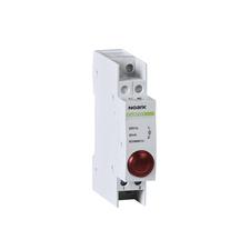 NOARK 102433 Ex9PD1r 230V AC/DC Světelné návěstí, 230V AC/DC, 1 červená LED