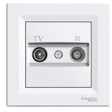 SCHN EPH3300121 Zásuvka TV-R, koncová, bílá RP 0,11kč/ks