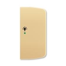 ABB 6220A-A02201 D free@home Kryt 2násobný pravý, symbol osvětlení