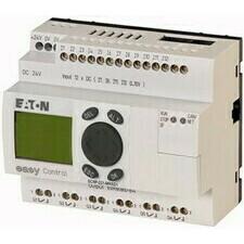 EATON 106393 EC4P-221-MRXD1 Řídicí relé easyControl, provedení s displejem, 12 DI (4 AI), 6 RO, easy
