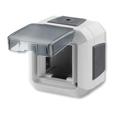 ABB 3903N-C06541 S Krabice nástěnná pro přístroje 45x45, s víčkem, pro průběž. mont., IP54 IPxx