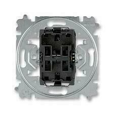 ABB 3559-A53345 Přístroje Přístroj přepínače střídavého a ovládače přepínacího, řazení 6+6/0