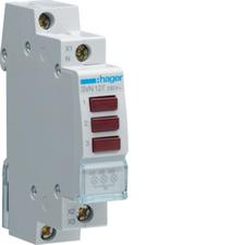 HAG SVN127 Kontrolka LED trojnásobná 3x červená, 230 V AC