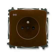 ABB 5589A-A02357 H Tango Zásuvka s přepěťovou ochranou, s akustickou signalizací poruchy