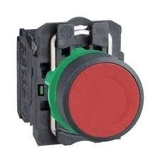 SCHN XB5AA41 Ovládač stiskací s návratem RP 0,04kč/ks