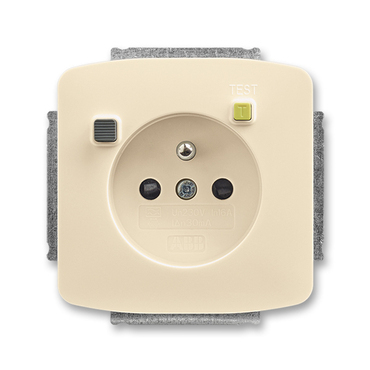 ABB 5526A-A02369 C Tango Zásuvka bezpečnostní s proudovým chráničem FI-DOS