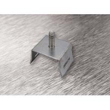 wpr8385 PTA-U1-N8-Z držák U1 na sloup pro pásy do š. 20 mm, + 1 šroub M8, pozinkovaná ocel, délka 5