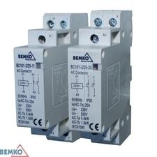 DAM modulový stykač BC101 1P 25A typ 11 (1z + 1r)