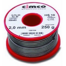 CIMCO 150104 Letovací drát o 2 mm (250 g)