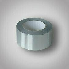 832515 Hliníková páska samolep. 50mm/50m Samolepící AL páska, 50m x 50mm (tl. 50 micronů s linerem)