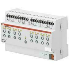 ABB 2CDG110126R0011 KNX Řadový žaluziový akční člen 8násobný, 230 V AC, detekce pohybu a man. ovládá