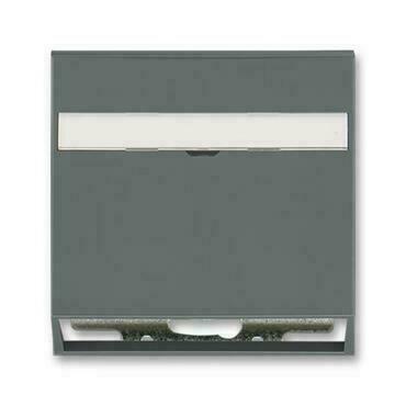 ABB 5014M-A00100 61 Neo Kryt zásuvky komunikační (pro nosnou masku), s popisovým polem