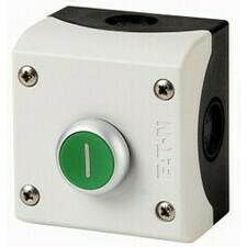 EATON 216522 M22-D-G-X1/KC11/I Tlačítko ve skříňce, 1Z 1V