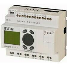 EATON 106399 EC4P-222-MTXD1 Řídicí relé easyControl, provedení s displejem, 12 DI (4 AI), 8 DO, easy