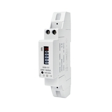 EL 1000882 Elektroměr DDS-1Y-18M 45A, 1mod., mechanický číselník, 1-fáz., 1-tar., podružný RP 0,60kč