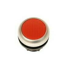 EATON 216594 M22-D-R Ovládací hlavice tlačítka, zapuštěné tlačítko, bez aretace, kroužek titan, červ