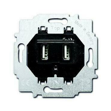 Přístroj nabíjecí USB (6400-0-0002), šedá, 6472 U-5