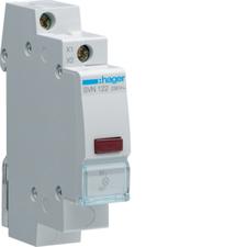 HAG SVN122 Kontrolka LED červená, 230 V AC