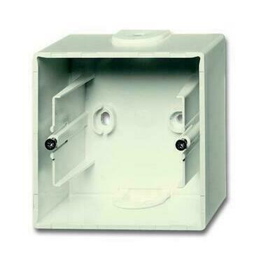 ABB 2CKA001799A0896 Úložný materiál Krabice přístrojová jednonásobná, pro lištové rozvody