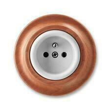 ABB 5519K-C02347 52 Decento Zásuvka jednonásobná s ochranným kolíkem