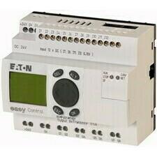 EATON 106391 EC4P-221-MTXD1 Řídicí relé easyControl, provedení s displejem, 12 DI (4 AI), 8 DO, easy