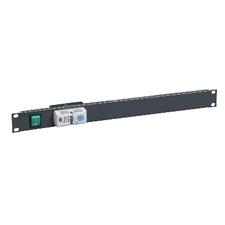 """SCHN NSYCRTM1UVT 19"""" panel s termostatem 1U"""