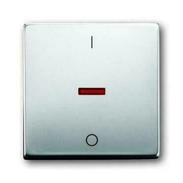 ABB 2CKA001751A2961 Future Kryt spínače jednoduchý, s potiskem I/0, s červeným průzorem