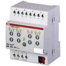 ABB 2CDG110143R0011 KNX Řadový žaluziový akční člen s ručním ovládáním, 4násobný, SMI LoVo
