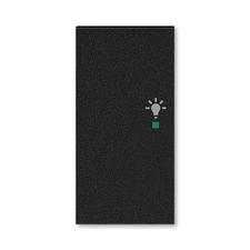 ABB 6220H-A02101 63 free@home Kryt 2násobný levý, symbol osvětlení