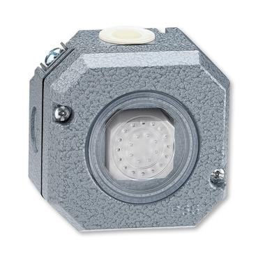 ABB 3558-80750 Ovládač tlačítkový zapínací, řazení 1/0, Al, IP66 IPxx